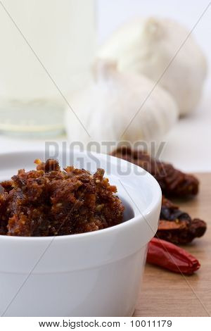 Pesto Made From Dried Tomatoes