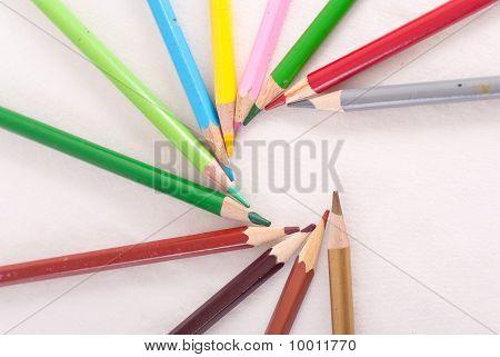 Colored Pencil Spiral