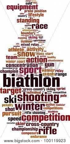 Biathlon Word Cloud