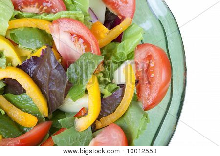 Colorful Tossed Salad Detail