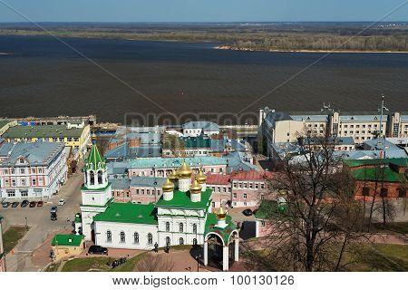 View Of Church Of The Nativity Of John The Precursor