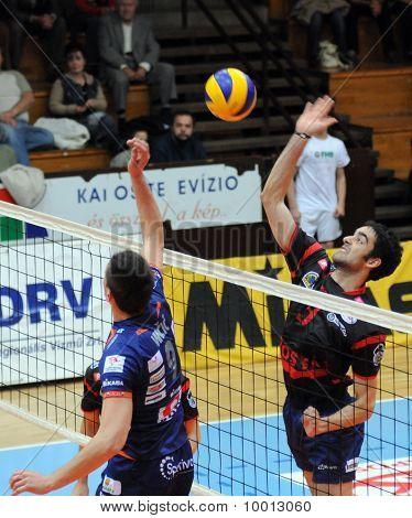 Kaposvar - Bled volleyball game