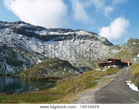 Mountain Landscape With Chalet
