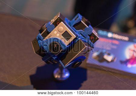 360-degree Virtual Reality Camera System