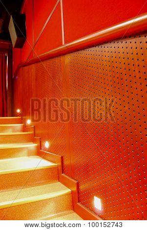 Cinema sound insulation