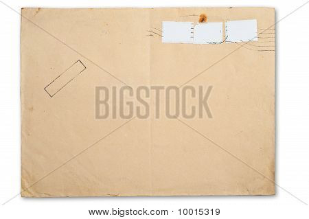 Envelope isolated.