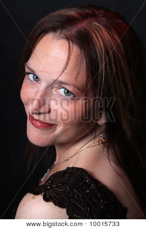 Pretty Woman In Her Forties