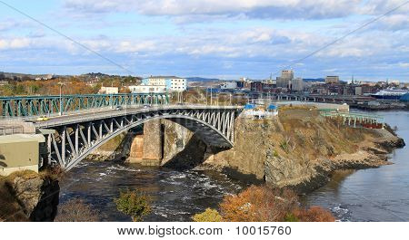 Reversing Falls Bridge, Saint John Nb