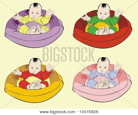 Baby In Cradle Patterns
