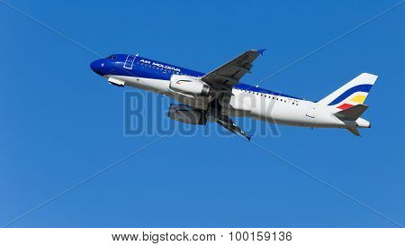 Beautiful Airbus A320-233 Air Moldova