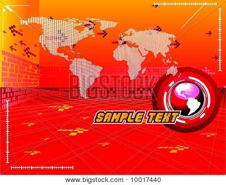 modern world vector