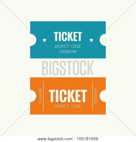 Entry ticket to old vintage style. Admit one theater, cinema, zoo, swimming pool, fair, rides, swing, amusement park, carousel. icon for online booking of tickets. poster