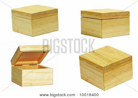 Details of wooden box