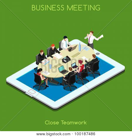 Business 02 People Isometric