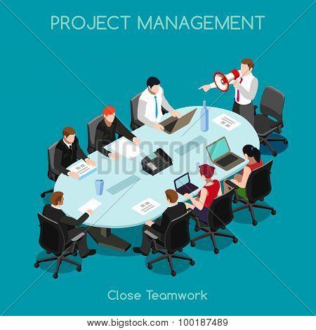 Business 03 People Isometric