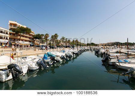 Yachts In The Marina Bay