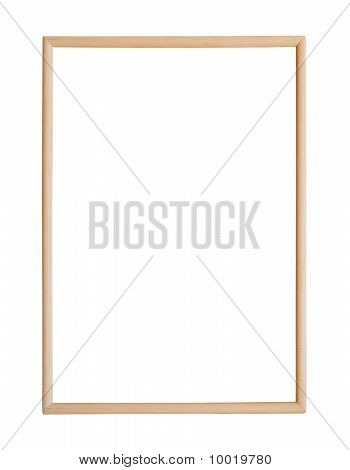 Thin Wooden Picture Frame