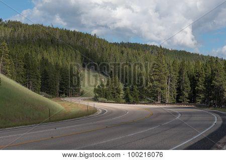 Twisty Mountain Road