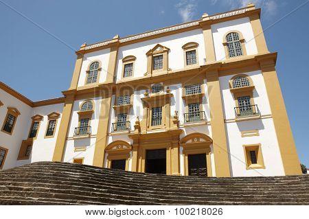 Traditional Azores Facade. Palace General Captain. Angra. Terceira. Portugal