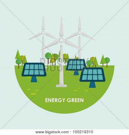 Go green design.