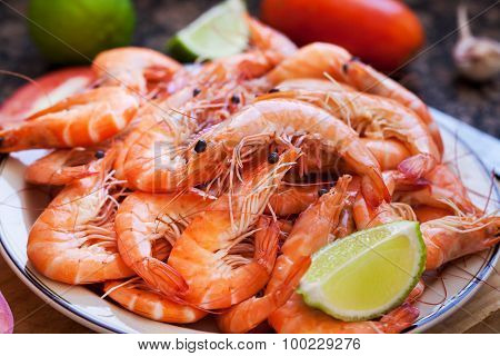 Fresh Delicious Prawns
