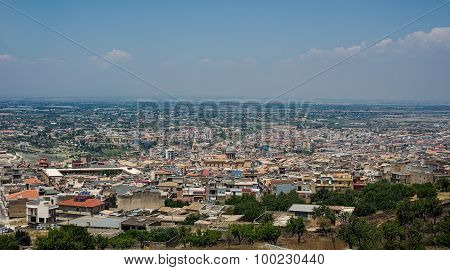 Comiso Cityscape. Ragusa Province, Sicily, Italy.