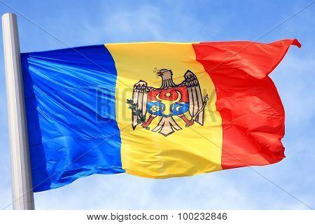 The Moldavian Flag