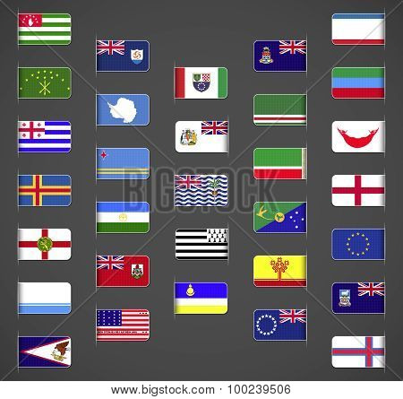 World flags collection, others part 1