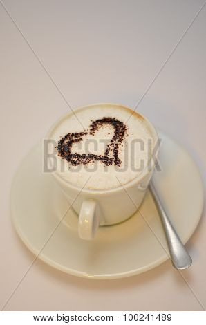 Cup Of Coffee Heart