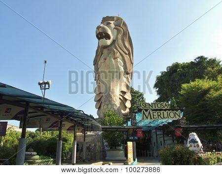 Sentosa Merlion park
