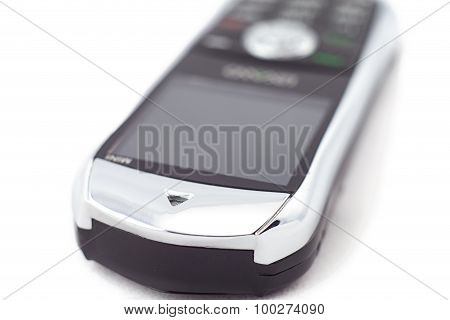 Photo mobile phone in refocuse