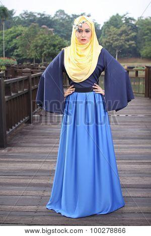 high fashion muslim women