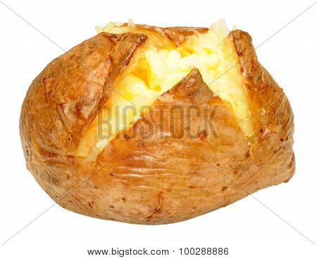 Baked Potato With Melting Butter