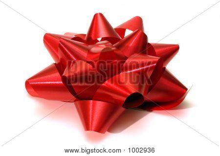 A Christmas Bow Or Ribbon