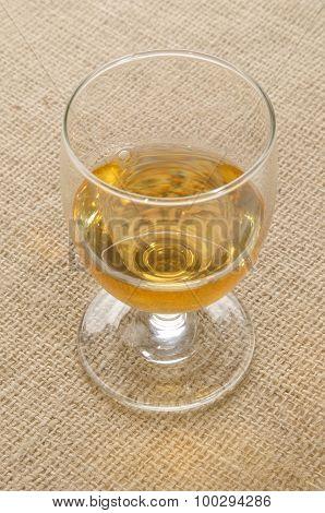 Tripple Distilled Irish Whiskey In A Glass