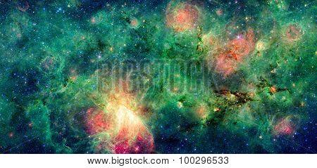 Dark Cloud M17 Swex And M17 Nebula