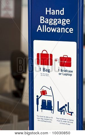 Baggage Allowance.