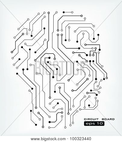 Circuit Human Head
