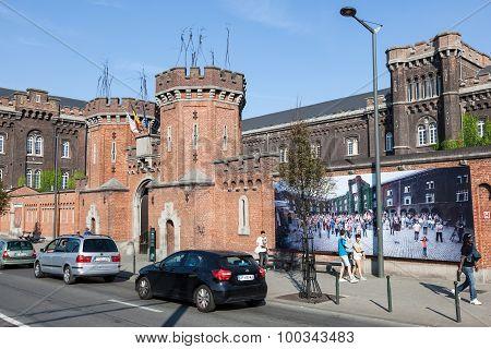 Refugee Center In Brussels, Belgium