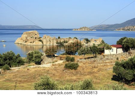 Bafa Lake, Turkey.
