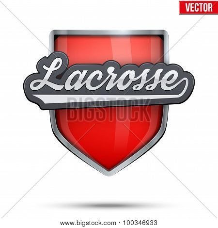 Premium symbol of Lacrosse label