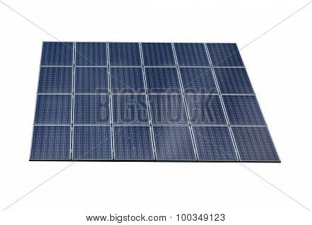 Solar Panel, Isolated