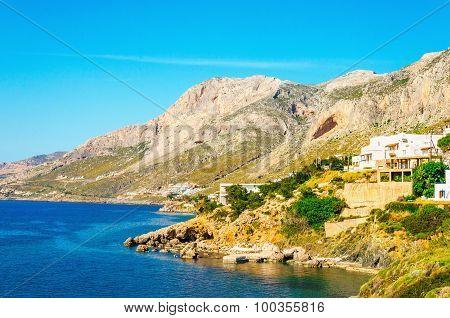Cozy, quiet resort on Greek sea coast, Greece