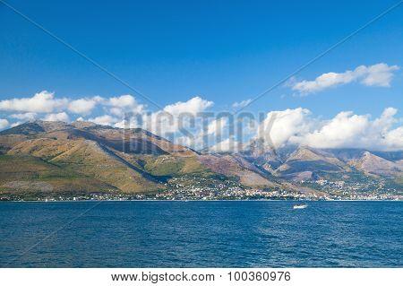 Summer Landscape Of Gaeta Bay, Italy