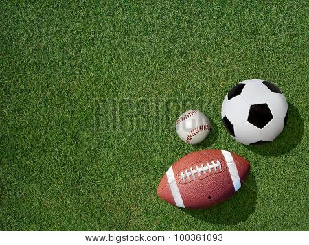 Sports On Green Grass Sports Turf