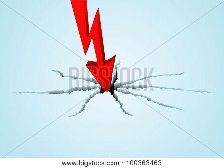 Arrow Breaks The Surface