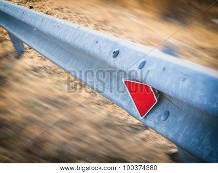 Guardrail In The Country