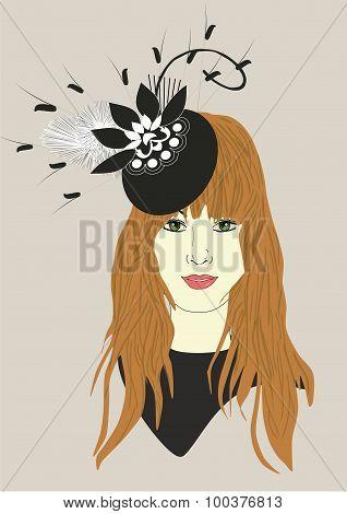 Izzy's Fascinator Hat
