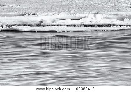 Silky Water Under the Snow