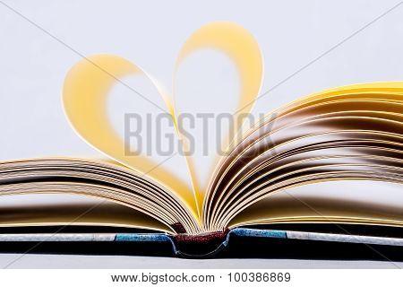 Heart Shaped Book.